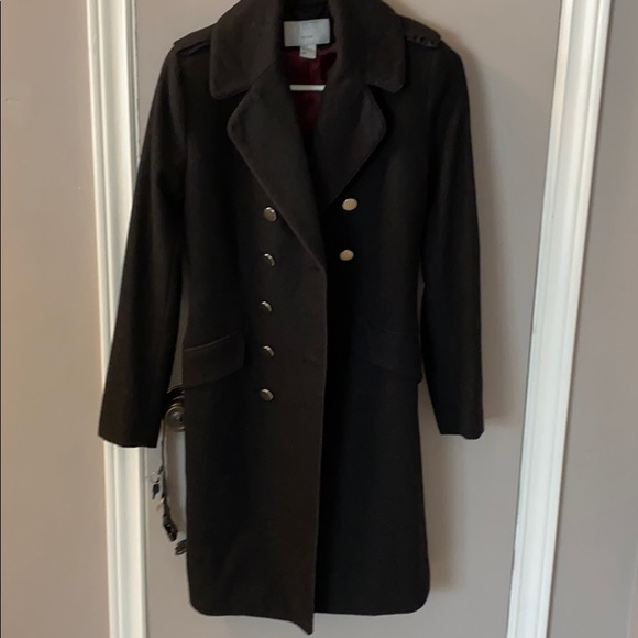 Military style wool H&M jacket